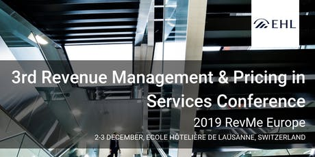 3rd Revenue Management & Pricing in Services Conference tickets