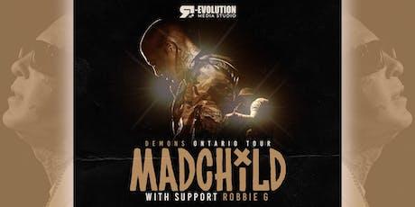 Madchild live in Timmins Dec 1st at Club 147 billets