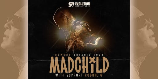 Madchild live in Timmins Dec 1st at Club 147