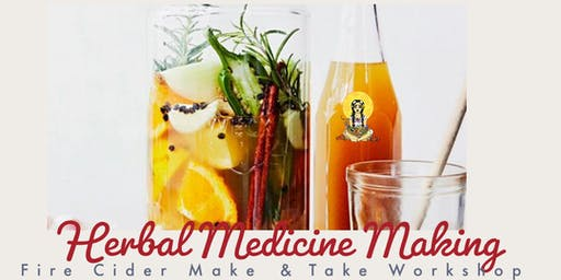 Herbal Medicine Making: Fire Cider
