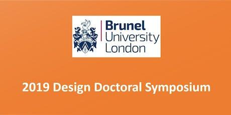 2019 Design Doctoral Symposium tickets