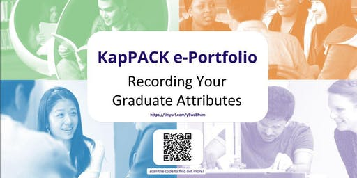 KapPACK e-Portfolio Drop In Session