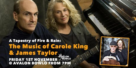 A Tapestry of Fire & Rain: ​The Music of Carole King & James Taylor tickets