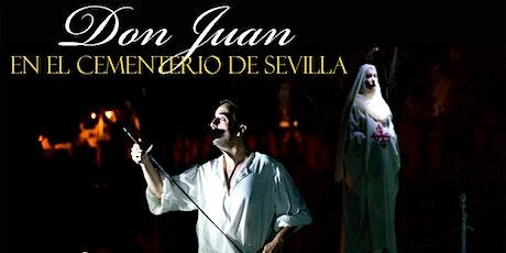 Don Juan Tenorio en el Cementerio de Sevilla entradas
