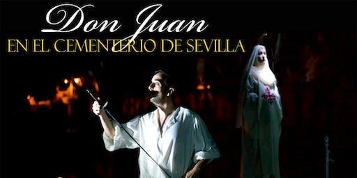 Don Juan Tenorio en el Cementerio de Sevilla