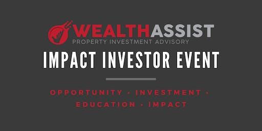 Impact investor event