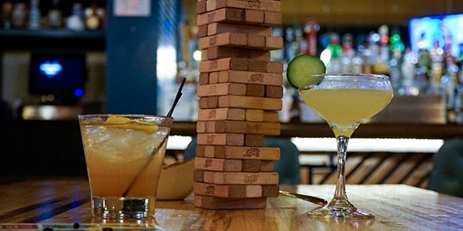 Jenga & Cocktails - $50 bar tab for each booking of 5+ people!