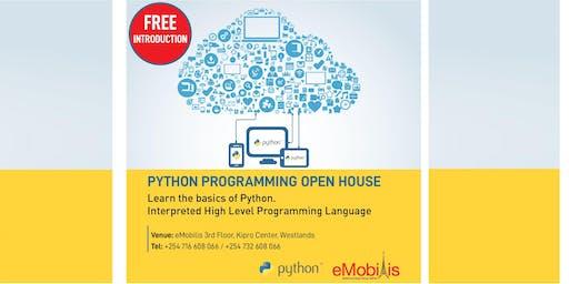 Python Open House