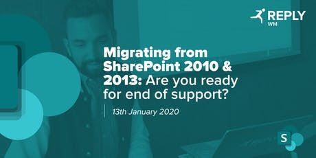 Migrating from SharePoint 2010 & 2013: Are You Ready for End of Support? tickets