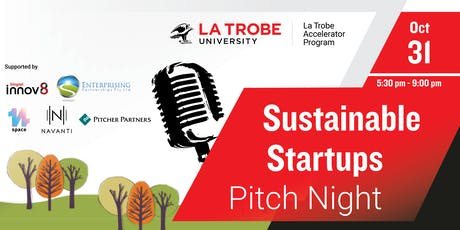 Sustainable Startups Pitch Night tickets