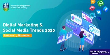 Digital Marketing &  Social Media Trends 2020 tickets