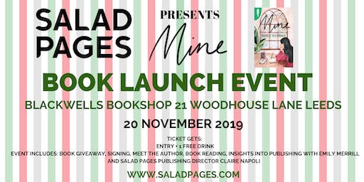 BOOK LAUNCH: MINE by EMILY MERRILL