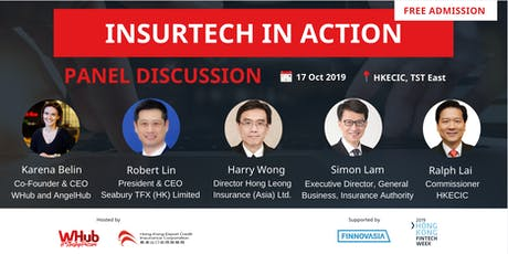 InsurTech in Action  | FinTech Week Hackathon 2019 tickets