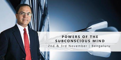 Powers of the Subconscious Mind : Free Seminar | 2nd Nov'19 : Bengaluru