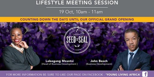 Young Living Lifestyle Meeting - Johannesburg