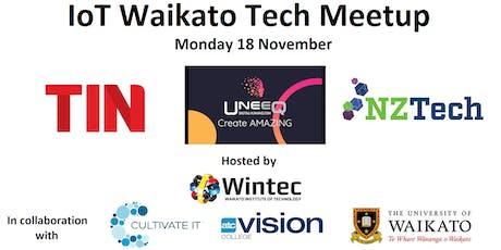 IoT Waikato November Tech Meetup tickets