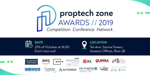 PROPTECH ZONE AWARDS® 2019