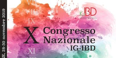 X Congresso nazionale IGIBD 2019