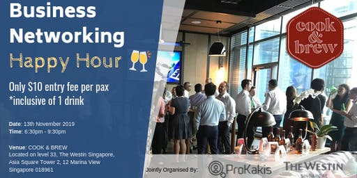 Business Networking Happy Hour
