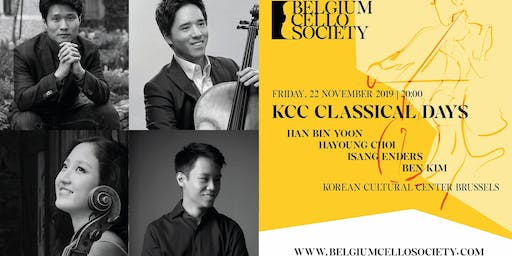KCC Classical Days - BCS (Belgium Cello Society)