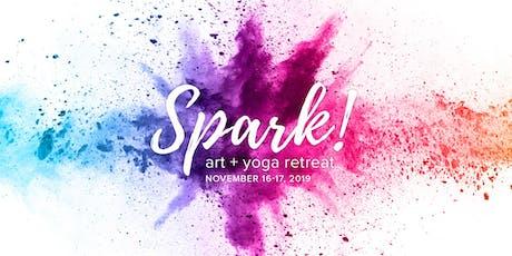 Spark! Art + Yoga Retreat tickets
