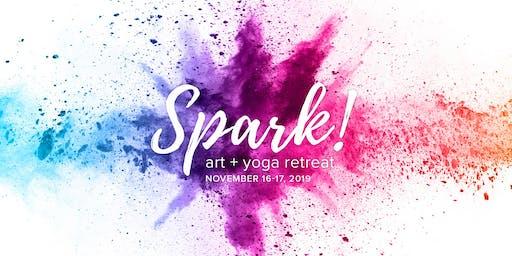 Spark! Art + Yoga Retreat
