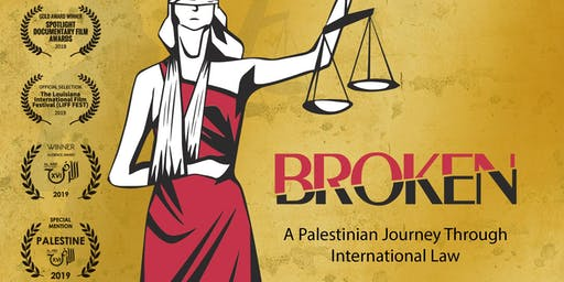 BROKEN– A Palestinian Journey Through International - Film screening + Q&A