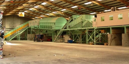 Visit to HW Martin recycling facility