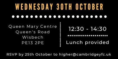 Higher Cambs 2020: North Leaders Launch