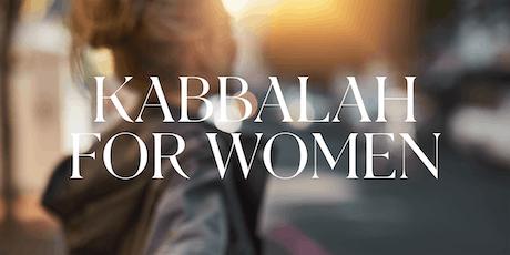 Kabbalah for Women November 2019 tickets