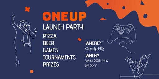 OneUp launch party - food, beer and networking!