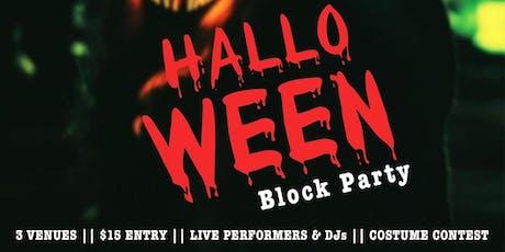 Halloween Block Party tickets
