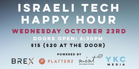 Israeli Tech Happy Hour tickets