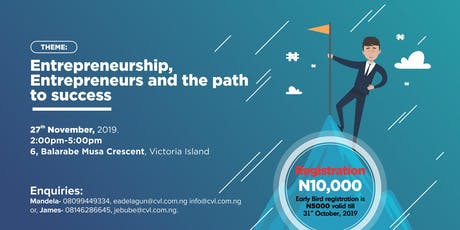 ROLE MODEL FORUM: ENTREPRENEURSHIP, ENTREPRENEURS AND THE PATH TO SUCCESS tickets