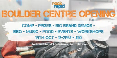 Rock and Rapid Bouldering Centre Grand Opening
