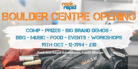 Rock and Rapid Bouldering Centre Grand Opening tickets