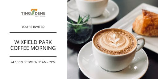 Coffee Morning at Wixfield Park