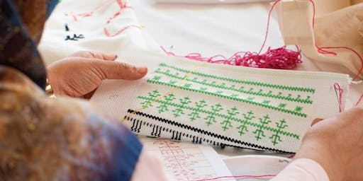 Stitch-Up: Meet other embroiderers and learn the Moroccan Fez-Stitch