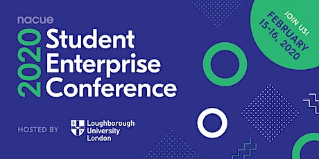NACUE's Student Enterprise Conference 2020 tickets
