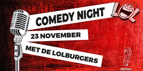Comedy Night @JH De Zool tickets