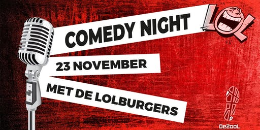 Comedy Night @JH De Zool