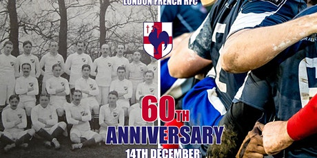 60th Anniversary Party Dinner - London French RFC  tickets