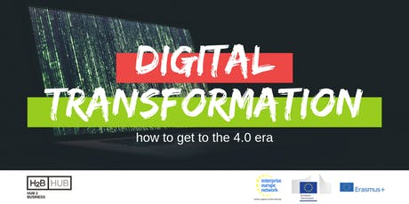 Digital transformation: how to get to the 4.0 era tickets