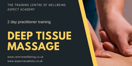 Deep Tissue Massage Practitioner Training tickets