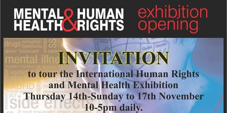Mental Health & Human Rights Exhibition tickets