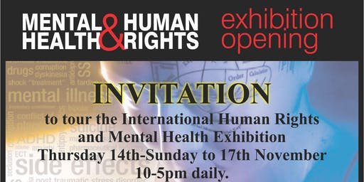 Mental Health & Human Rights Exhibition