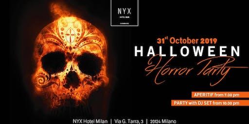 HALLOWEEN MILANO 2019 @ NYX HOTEL - HORROR PARTY