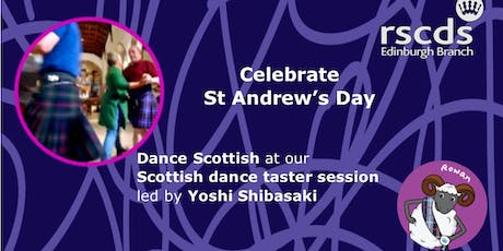 Dance Scottish for St Andrew's Day at our FREE Taster session tickets