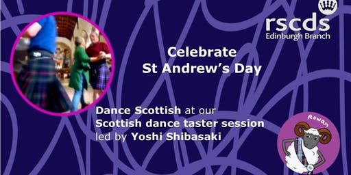 Dance Scottish for St Andrew's Day at our FREE Taster session