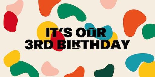 PLATF9RM Third Birthday